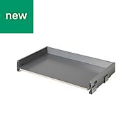 GoodHome SOTO Matt Anthracite Kitchen drawer unit, 764mm