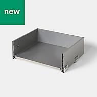 GoodHome SOTO Matt Anthracite Kitchen drawer unit, 564mm