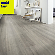 Zimba Oak effect Laminate flooring, 1.75m² Pack