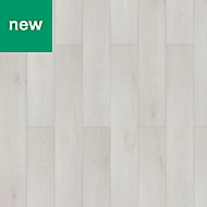 Tabor White oak effect Laminate flooring, 1.75m² Pack