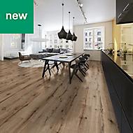 Orlancha Oak effect Laminate flooring, 1.75m² Pack