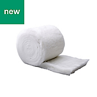 Diall Insulation roll, (L)6m (W)0.37 m (T)100mm