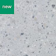 GoodHome Algiata Matt Grey Stone effect Laminate Upstand (L)3000mm