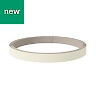 GoodHome Stevia Gloss Cream Edging tape, (L)10m