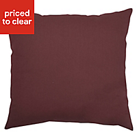 Panaji Geometric Ruby Cushion