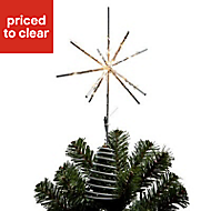 Battery operated Starburst Tree topper