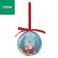 Multicolour Gloss Vacation forest Bauble