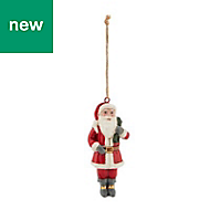 Red Santa Decoration