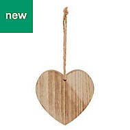 Wooden heart Decoration