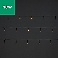 50 Warm white LED String lights