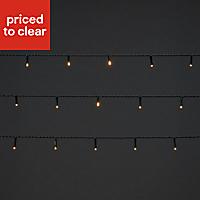 240 Warm white LED String lights