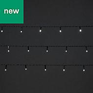 240 Cold white LED String lights