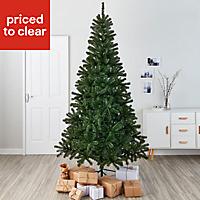 7ft Woodland Pine Artificial Christmas tree