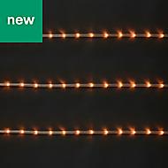 144 Warm white LED Rope Light