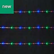 144 Multicolour LED Rope Light