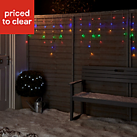 300 Multicolour LED Icicle String lights