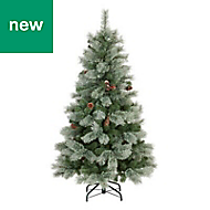 5ft Winterberg Cashmere tipped Artificial Christmas tree