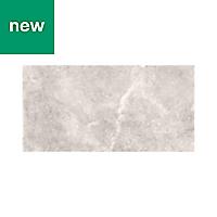 Mulligan Grey Matt Stone effect Ceramic Floor tile, Pack of 6, (L)600mm (W)300mm