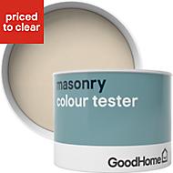 GoodHome Campinas Smooth Matt Masonry paint 0.25L Tester pot
