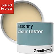 GoodHome Aruba Smooth Matt Masonry paint 0.25L Tester pot
