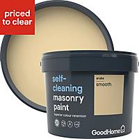 GoodHome Self-cleaning Aruba Smooth Matt Masonry paint, 10L