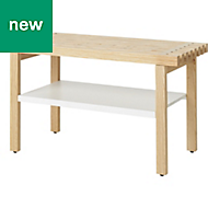 GoodHome Adriska Bench