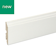 Matt Skirting board (T)16mm (L)2200mm