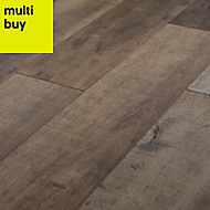 GoodHome Kirton Natural oak effect Laminate flooring, 2.13m² Pack