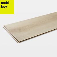 GoodHome Ledbury Natural Oak effect Laminate flooring, 1.87m² Pack
