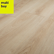 GoodHome Ledbury Natural Oak effect Laminate flooring, 1.88m² Pack