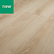 GoodHome Ledbury Natural Oak effect Laminate flooring, 1.87m² Pack