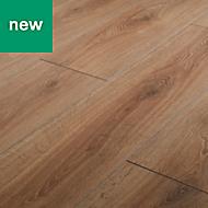 GoodHome Neston Natural Oak effect Laminate flooring, 1.3m² Pack