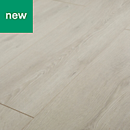 GoodHome Newlyn Grey Oak effect Laminate flooring, 1.68m² Pack