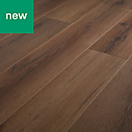GoodHome Padiham Oak effect Laminate flooring, 1.64m² Pack