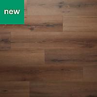 GoodHome Padiham Oak effect Laminate flooring, 1.64m² Pack