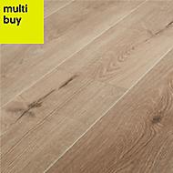 GoodHome Stoke Natural Oak effect Laminate flooring, 1.72m² Pack