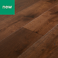 GoodHome Kailas Oak Real wood top layer flooring, 2.05m² Pack