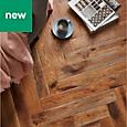 GoodHome Skanor Oak Solid wood flooring, 0.86m² Pack