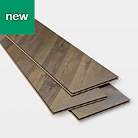 GoodHome Helston Natural Oak effect Laminate flooring, 2.7m² Pack