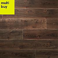 GoodHome Orford Grey Oak effect Laminate flooring, 1.76m² Pack
