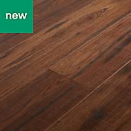 GoodHome Otley Brown Oak effect Laminate flooring, 1.75m² Pack