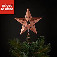 Copper Star Tree topper