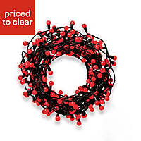 240 Red LED Berry String lights