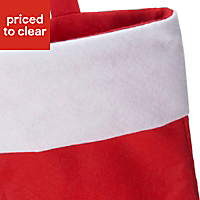 Red & white Classic Christmas Stocking