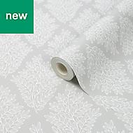 Acinos Grey Leaves Wallpaper