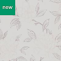GoodHome Acaj Beige & white Floral Wallpaper