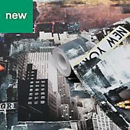 GoodHome Dimeria New York Wallpaper