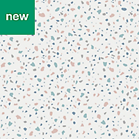 GoodHome Fusca White Tezzaro effect Wallpaper