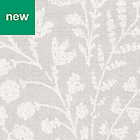 GoodHome Dryade Grey Leaves Wallpaper