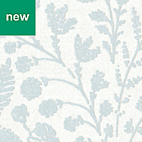 GoodHome Dryade Blue Leaves Wallpaper